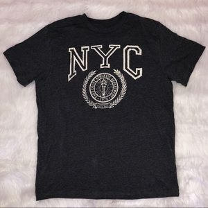 Tops - NYC Gray tee, size L